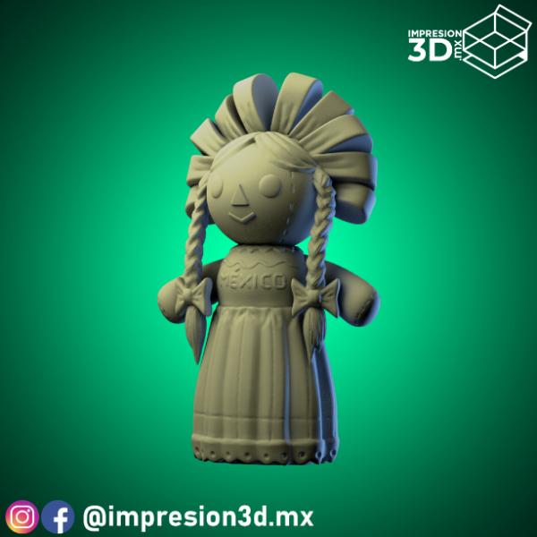 Muñeca de Trapo @impresion3d.mx